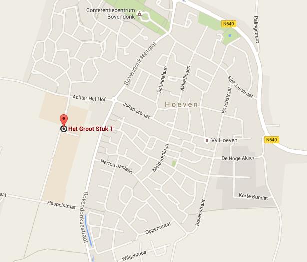 locatie VV Hoeven